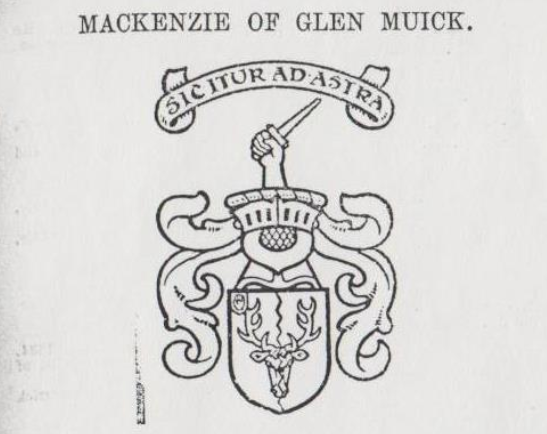 Mackenzie of Glen Muick Coat of Arms